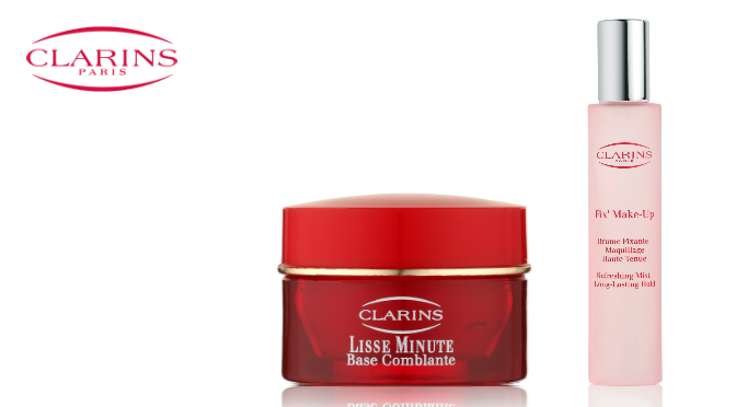 Beauty Diaries by Beauty Line - Clarins Fix'Make Up Lisse Minute Base Comblante