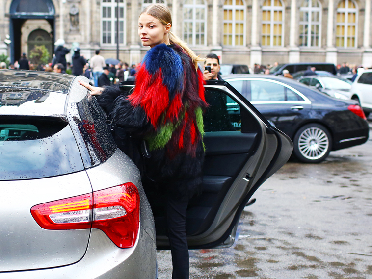 la-modella-mafia-Paris-street-style-Fall-2014-fashion-week-Cavalli-fur-via-vogue