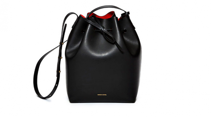 Beauty Diaries by Beauty Line - Mansur Gavriel Buckiet Bag