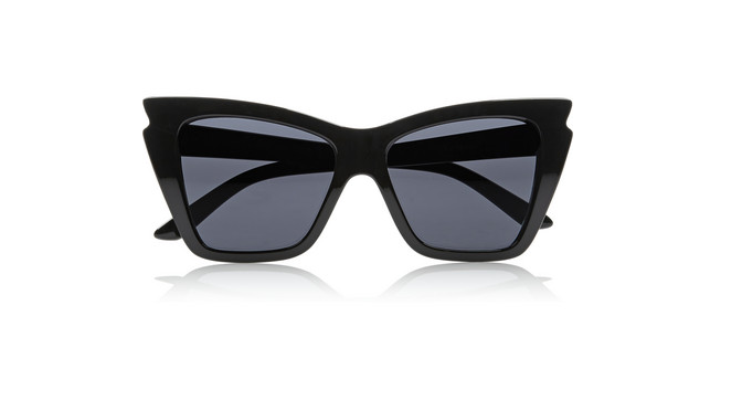 Beauty Diaries by Beauty Line-Le Specs Rapture cat eye acetate sunglasses