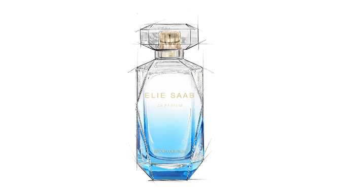 Beauty Diaries by Beauty Line  - Elie Saab Resort Collection Bottle
