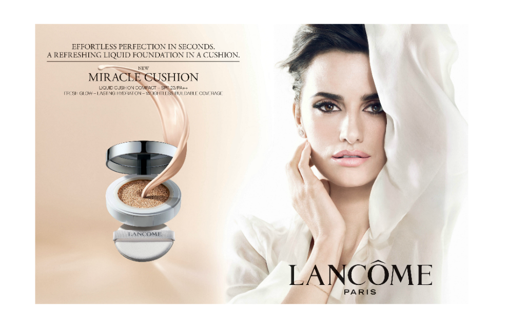 Beauty Diaries by Beauty Line - LANCOME Miracle Cushion Foundation