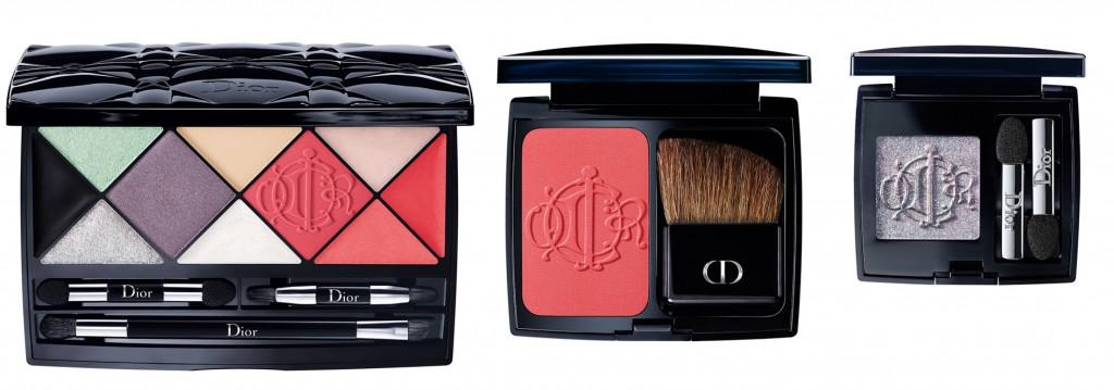 Dior Kingdom of Colors Palette - Diorblush Kingdom of Colors 873 Cherry Glory  Diorshow Mono Kingdom of Colors 045 Fairy Grey