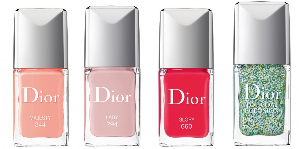 Dior Vernis 244 Majesty – 294 Lady – 660 Glory - Top Coat Eclosion – Blossoming Top Coat 001