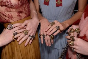 RING OF THE RULES Backstage at Gucci AW15
