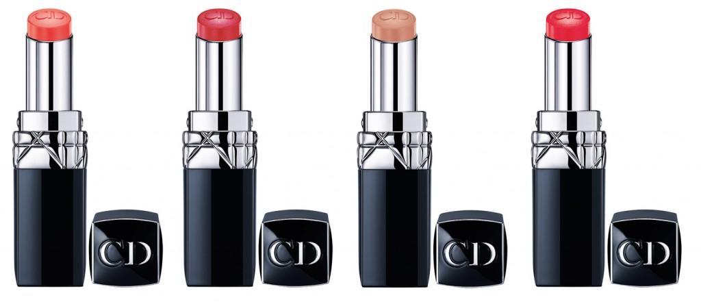 Rouge Dior Baume 448 Belle de Printemps – 628 Palais – 650 Fleur de Lys – 668 Cotillon – 678 Gala