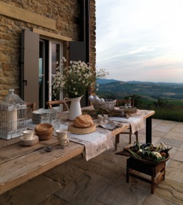 Morning in Tuscan