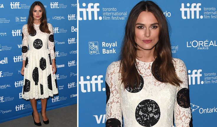 Spring-summer-2015-fashion-trends-polka-dots-dolce-and-gabbana-dress-keira-knightley-toronto-festival
