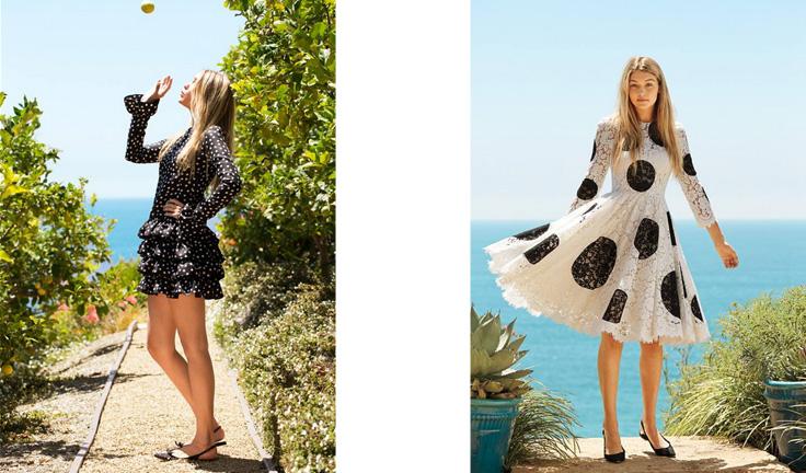 Spring-summer-2015-fashion-trends-polka-dots-dolce-and-gabbana-gigi-hadid-w-magazine