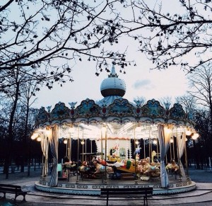 There's magic in the carousel
