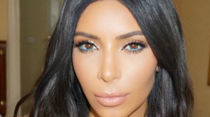 Beauty Diaries by Beauty Line - Kim Kardashian's Blue Eyeliner