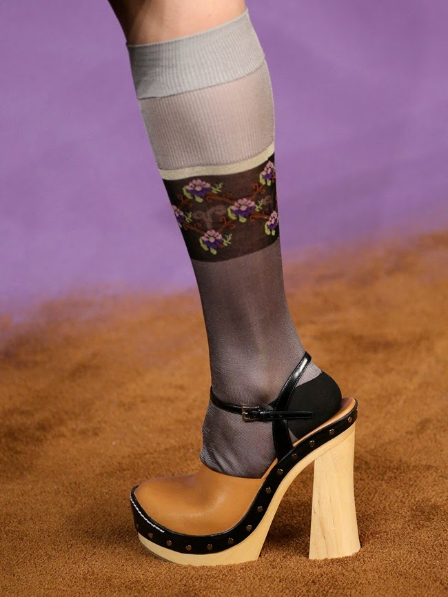 prada clogs shoes 2015 spring summer collection fashion trends