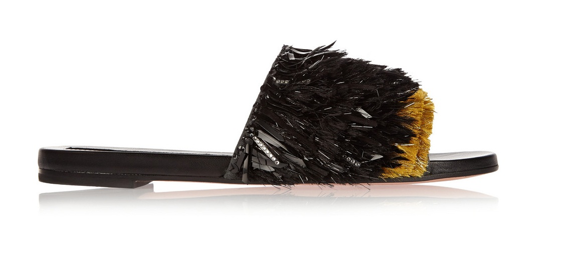 Beauty Line by Beauty Line by Beauty Diaries_Rochas Embellished suede sandals