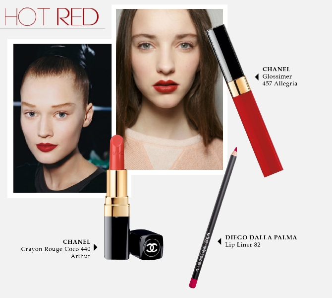 Beauty Diaries by Beauty Line - Hot Red