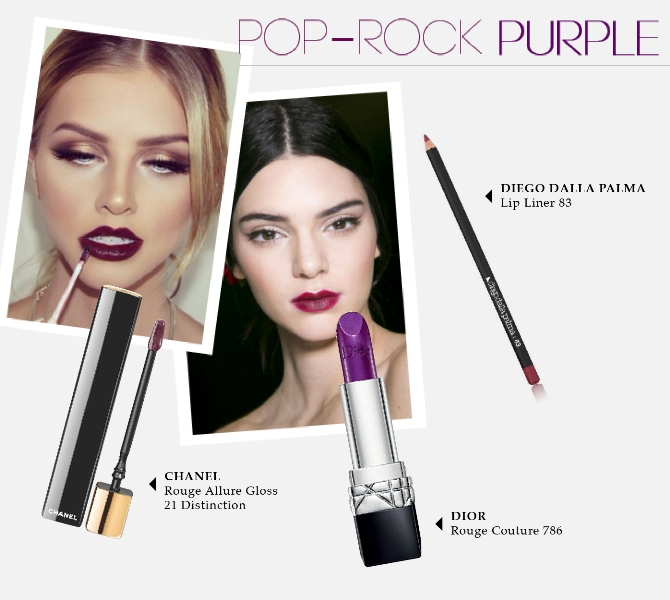 Beauty Diaries by Beauty Line - Pop Rock Purple