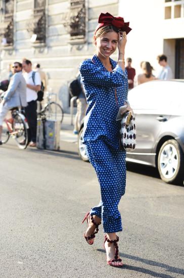 Milan-Street-Style-pyjama-trend-Tommy-Ton-364x550