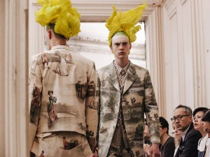 THE WIGS COMME DES GARCONS SS16 PFW