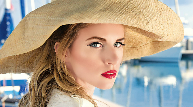 Beauty Diaries by Beauty Line - Beauty Line Magazine Cover Get The Look