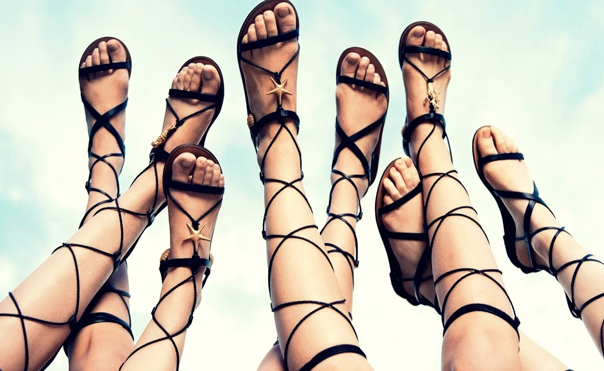 BEAUTY DIARIES BY BEAUTY LINE - GLADIATORS: THE SANDALS OF THE SUMMER