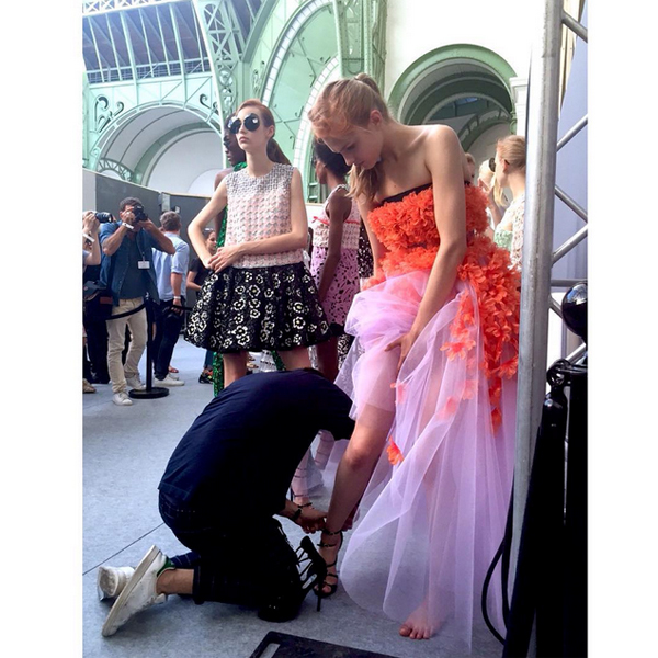 BEAUTY DIARIES BY BEAUTY LINE - TOP TEN INSTAGRAM SHOTS FROM COUTURE FASHION WEEK