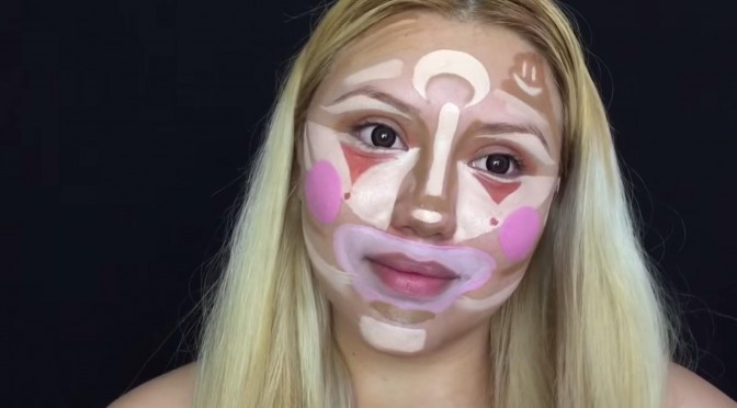 BEAUTY DIARIES BY BEAUTY LINE - CLOWN CONTOURING