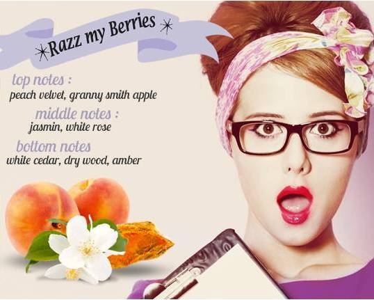 Beauty Diaries by Beauty Line - Foamous Razz my Berries