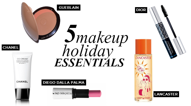 Beauty Diaries by Beauty Line - 5 Makeup Holiday Essentials