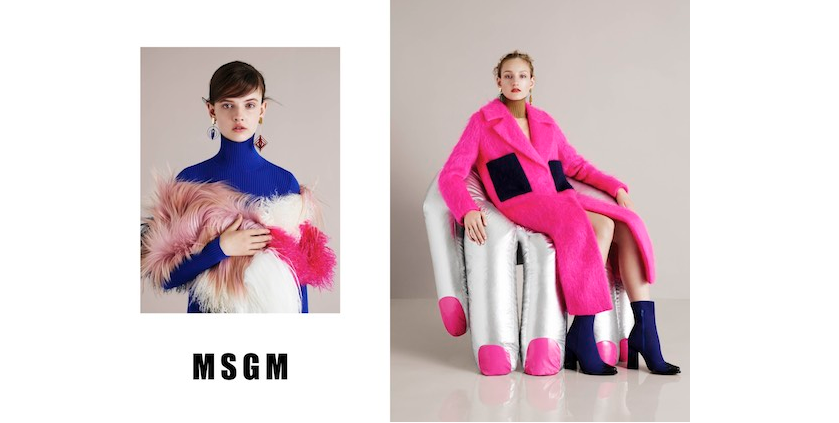 BEAUTY DIARIES BY BEAUTY LINE - MSGM FALL CAMPAIGN