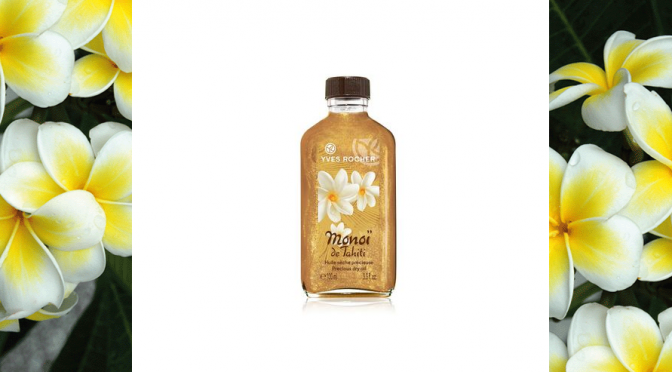 BEAUTY DIARIES BY BEAUTY LINE - YVES ROCHER PRECIOUS DRY OIL