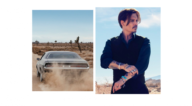 BEAUTY DIARIES BY BEAUTY LINE - JOHNNY DEPP FOR DIOR