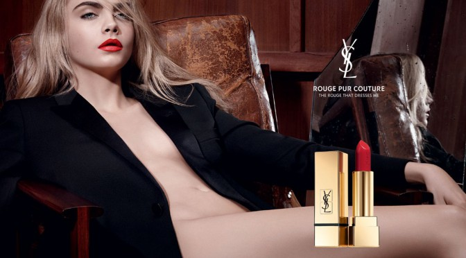 Beauty Diaries by Beauty Line - Cara Delevingne Yves Saint Laurent