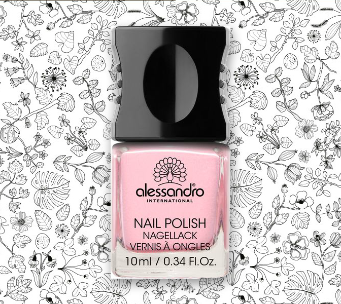 Beauty Diaries By Beauty Line - Alessandro Nail Polish in 38 Happy Pink