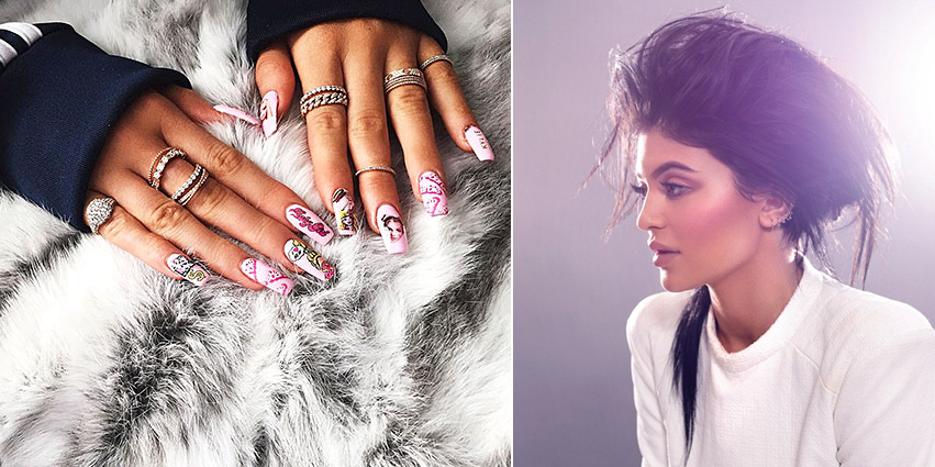 Beauty Diaries by Beauty Line - Kylie Jenner Barbie nails