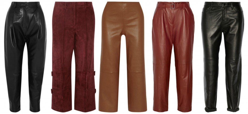 Beauty Diaries by Beauty Line - Leather trousers