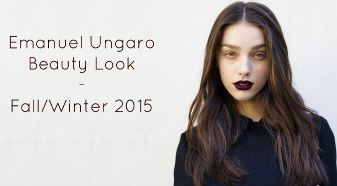 Beauty Diaries by Beauty Line - Get The Look Emanuel Ungaro