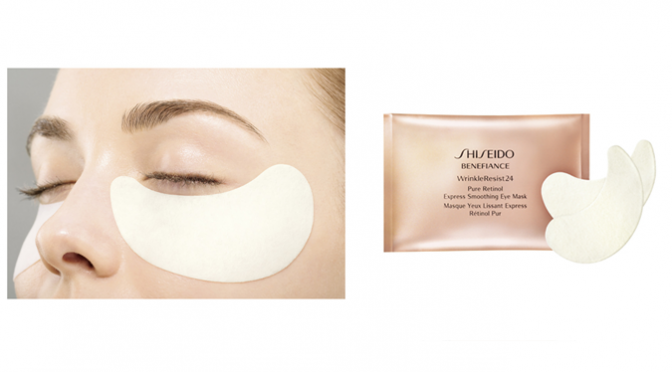 Beauty Diaries by Beauty Line - Shiseido Benefiance WrinkleResist24 Pure Retinol Express Smoothing Eye Mask