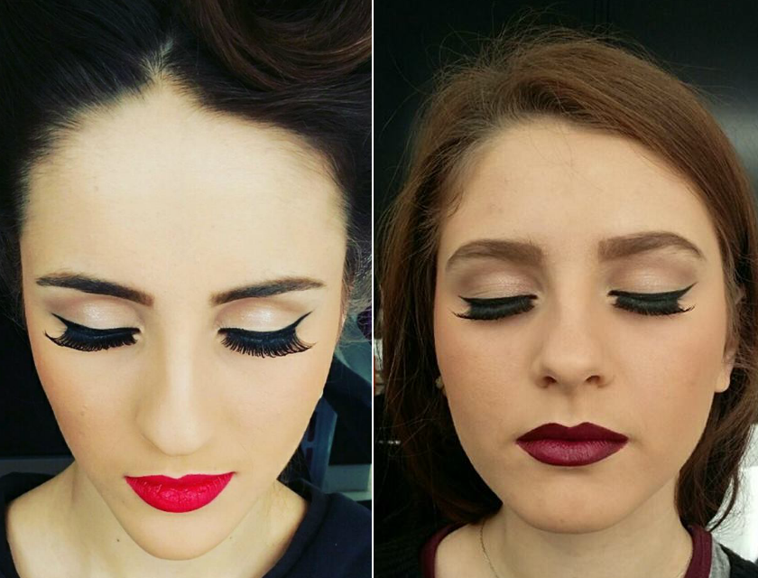 Beauty Diaries by Beauty Line - Pin Up Makeup Look by Marilena
