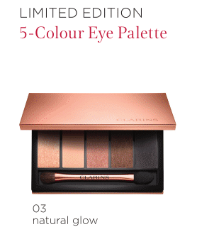 Beauty Diaries by Beauty Line - Clarins Limited Edition 5-Colour Eye Palette
