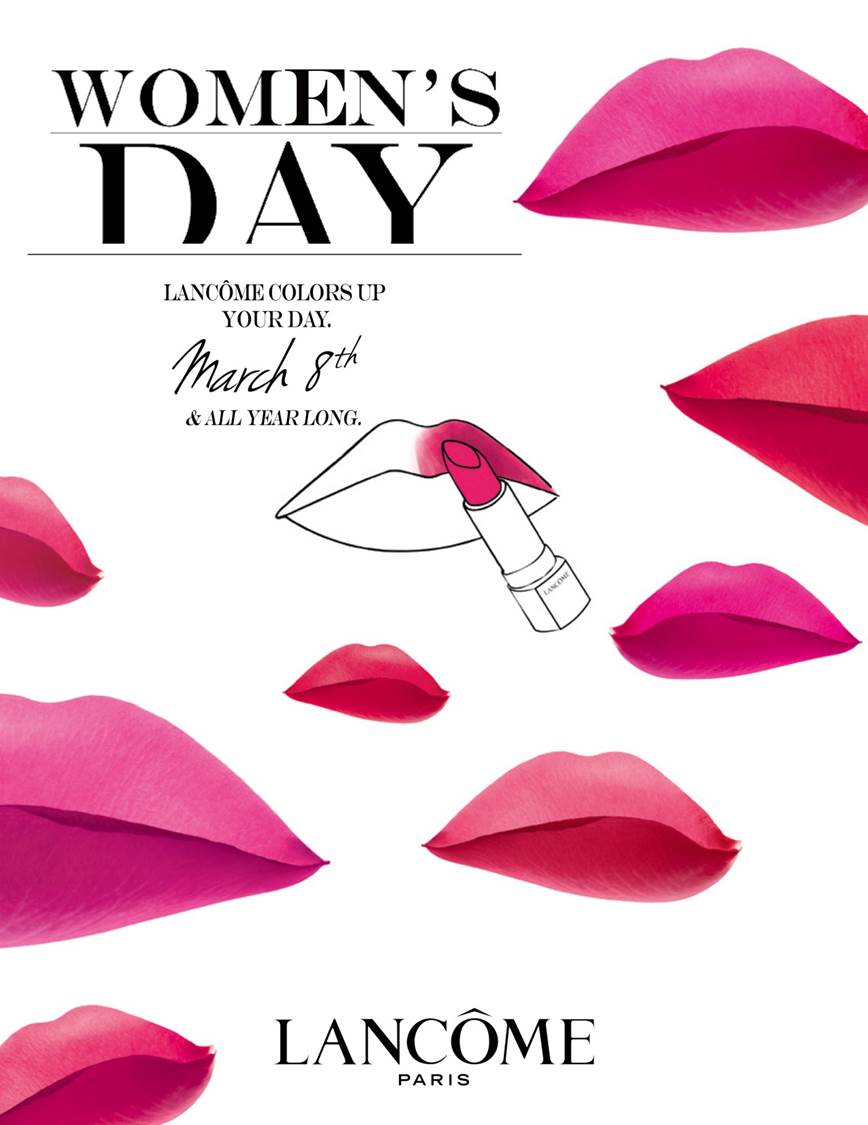Lancome Womens Day | Beauty Diaries by Beauty Line