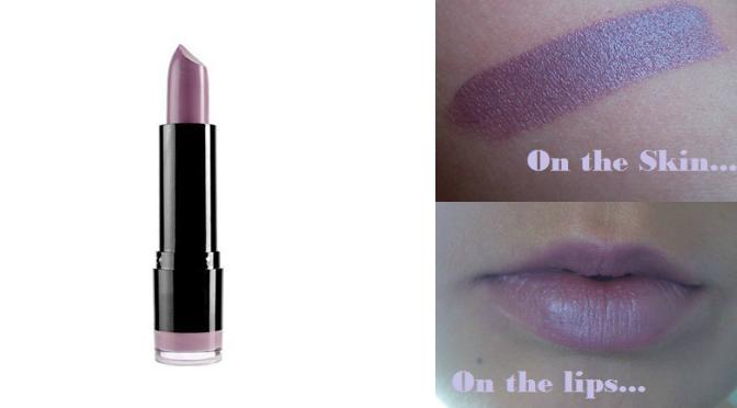 NYX Creamy Lipstick in Power