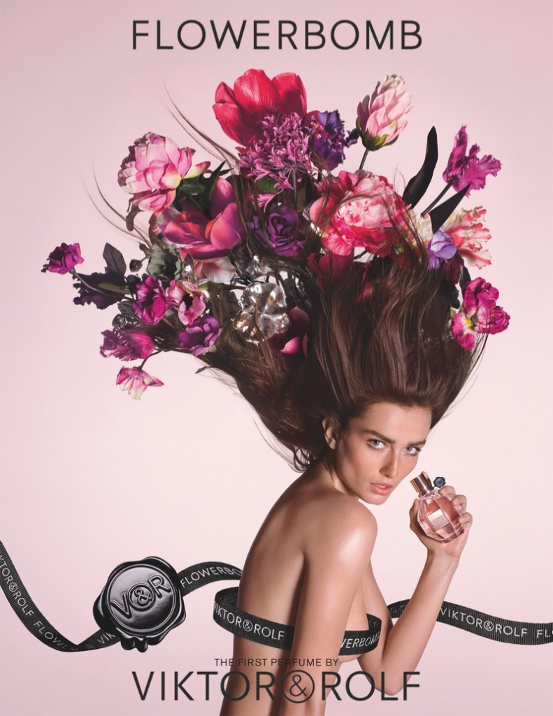 Viktor-Rolf-Flowerbomb-Perfume-Campaign