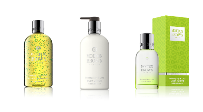 Beauty Diaries by Beauty Line - Molton Brown Caju and Lime Collection