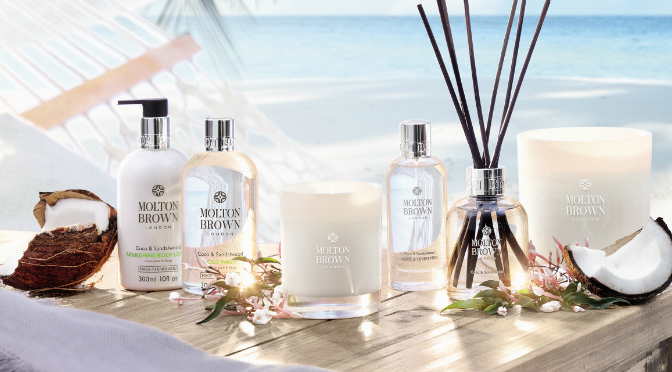 Beauty Diaries by Beauty Line - Molton Brown Coco and Sandalwood Collection